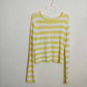 Medium* Free People Beach Shake&Roll crop sweater